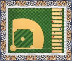 Sports Life Quilts: Home Run Free Pattern: Robert Kaufman Fabric ... & Sports Life Quilts: Home Run Free Pattern: Robert Kaufman Fabric Company Adamdwight.com
