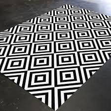 black and white geometric rug. black and white rug, geometric bedroom living room christmas rug