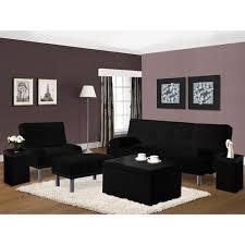 Beautiful Leather Futon In Living Room Modern With White Painted Futon In Living Room