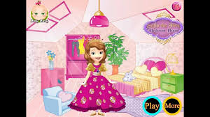 Sofia The First Bedroom Princess Sofia The First Bedroom Decor Best Girls Games Youtube