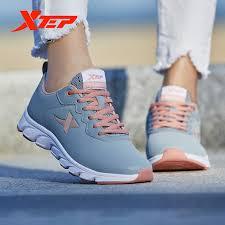 <b>Xtep</b> Blade <b>Men Women's</b> Running Shoes Spring New Leather ...