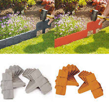 garden borders and edging. PLASTIC COBBLED STONE EFFECT GARDEN EDGING HAMMER-IN LAWN PLANT BORDER Garden Borders And Edging