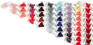 Essie Gel Colors Chart Reds Gel Couture Longwear Long Lasting Nail Polish Essie