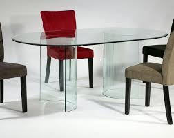oval glass dining table. oval glass dining table
