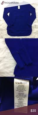 French Connection Royal Blue Blouse
