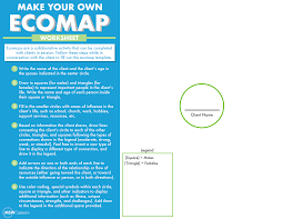 The Ecomap A Social Work Assessment Tool Msw Careers