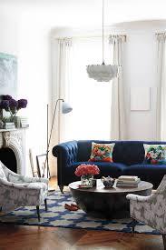 this blue velvet sofa lyle chesterfield sofa from anthropologie