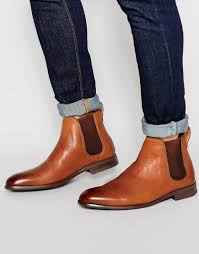For a comfortable design that doesn't compromise on style, scroll leather chelsea boots to complement your both casual and smarter looks. Aldo Merin Leather Chelsea Boots Tan In Brown For Men Lyst
