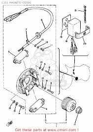 yamaha yz competition a usa c d i magneto yzg c d i magneto yz250g schematic