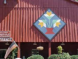 2399 best Barn Quilts images on Pinterest | Children, Barn art and ... & Basket of Flowers barn quilt at Museum of Appalachia Adamdwight.com