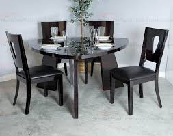 najarian furniture ariana 5 piece triangular dining set in forest craritsf dtaridtt dtaritf
