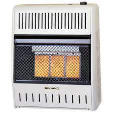 ventless three plaque natural gas wall heater 18 000 btu