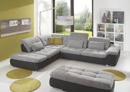Wohnzimmer Couch Wohnzimmercouch Malerei Wohnlandschaft Mit Hocker Weiss Grau Woody