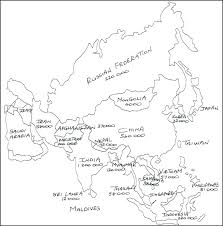 World Map Coloring Pages Children Of The Childrens Page