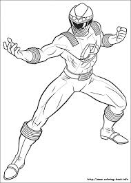 Power Rangers Coloring Pages On