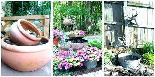 small outdoor fountain solar garden ideas water features fountains large brisbane