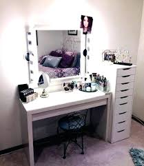makeup table with mirror vanity table with mirror and lights makeup desk with mirror and lights