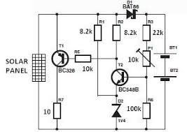 world technical solar charger circuit diagram self sufficiency world technical solar charger circuit diagram