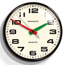 home and furniture extraordinary retro wall clocks in com infinity instruments 9 1 2