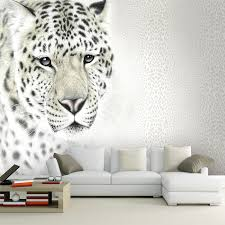 bedroom wallpaper designs. Custom Bedroom Wallpaper Designs 3D Lifelike Animals Leopard Wall Mural For Kids TV Backdrop Paper Non Woven-in Wallpapers From Home O