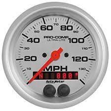 motu ultra lite mk3 auto meter ultra lite pro comp electric speedometer gps 140 mph in dash 3 3