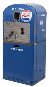 Pepsi Vending Machine Refund Extraordinary VMC Model 48 PepsiCola Cooler