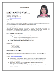 Resume For Job Interview Format Cv Format Job Interview Resume Formats100 Jobsxs Com Campus Luxury 2