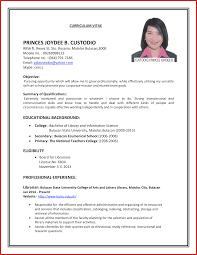 Resume For Job Interview Format Cv Format Job Interview Resume Formats100 Jobsxs Com Campus Luxury 2