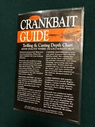 Wille Crankbait Guide 1050 From 1989 Laminated Trolling Casting Depth Chart