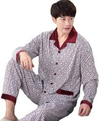 MSENRY New 2019 Men Cotton Knitted Sleep <b>Spring Autumn</b> ...
