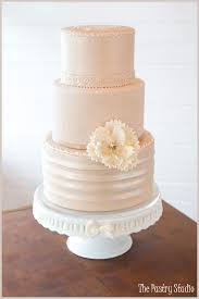 Vintage Wedding Cake By The Pastry Studio
