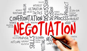 Image result for negotiated