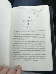 First Page In Acofas Got The Book Early Tog Acotar