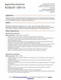 Application Engineer Resume Samples Qwikresume