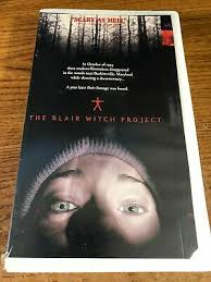 VHS TAPE - The Blair Witch Project - Opened and Excellent Condition - $5.00  | PicClick