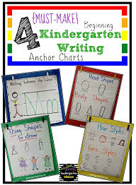 Anchor Charts Adorable Must Make Kindergarten Anchor Charts