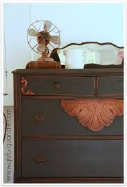 q is for quandie | from a vintage vantage point. Dresser painted with Miss  Mustard