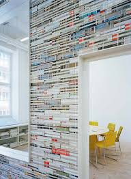 office design magazine. wall made out of magazines office design magazine i