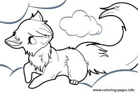 Small Picture WOLF Coloring Pages Free Printable