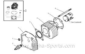 similiar alpha sport lg 90 parts keywords lg 90 atv d 1 cylinder head 90 cc