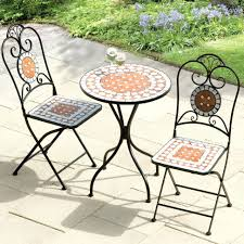 patio ideas mosaic tile outdoor dining table mosaic tile patio set make a mosaic tile
