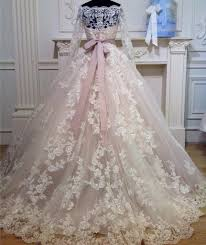 Ball Sleeves Design Off The Shoulder Long Sleeves Ball Gown Wedding Lace Dresses