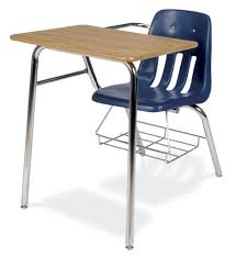 chair desk combo. virco soft plastic student chair desk combo with bookrack d