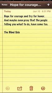 blind side quotes like success courage quotes from the blind side