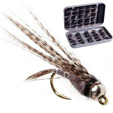 <b>Fly Fishing</b> Hook Bait <b>40pcs</b> Salmon Trout Dry <b>Fly Fishing</b> Lure ...
