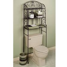 Over The John Storage Cabinet Bathroom Inspiring Shelving Idea Over The Toilet For Small Space