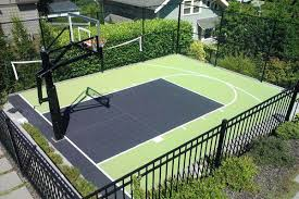 backyard basketball court used outdoor tiles dimensions melbourne