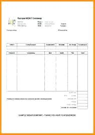 Accommodation Receipt Template Hotel Bill Invoice Template In Word ...