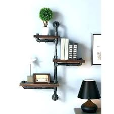 corner speaker shelf floating shelves for speakers industrial wood with bluetoot