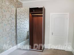 ikea pax auli mirror sliding door wardrobe